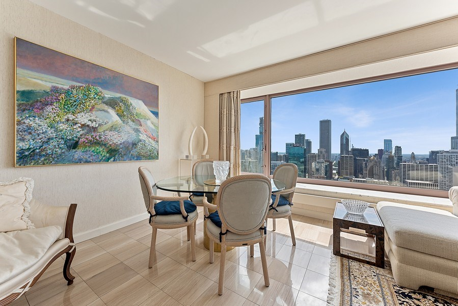 Real Estate Photography - 161 E Chicago Ave, Unit 43 C, Chicago, IL, 60611 - Dining Room