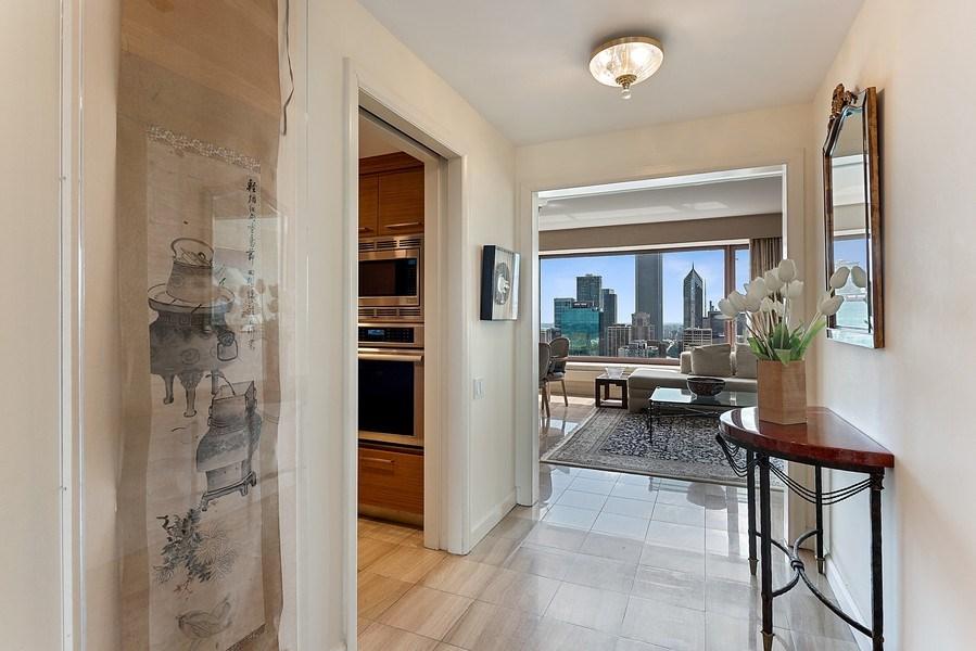 Real Estate Photography - 161 E Chicago Ave, Unit 43 C, Chicago, IL, 60611 - Foyer