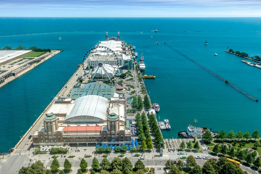 Real Estate Photography - 505 N Lakeshore Dr, Unit 3907, Chicago, IL, 60611 - View