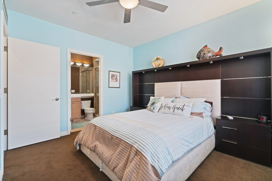 Real Estate Photography - 1117 W. Monroe St, #19, Chicago, IL, 60607 - 2nd Bedroom
