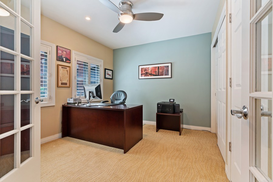 Real Estate Photography - 1117 W. Monroe St, #19, Chicago, IL, 60607 - 3rd Bedroom