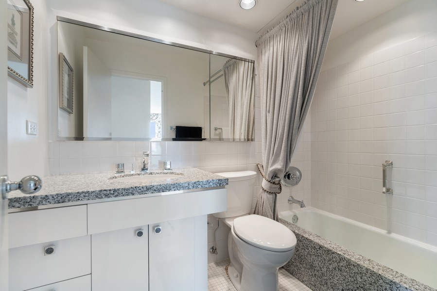 Real Estate Photography - 2800 N. Lake Shore Dr, #3401-3402, Chicago, IL, 60657 - 3rd Bathroom