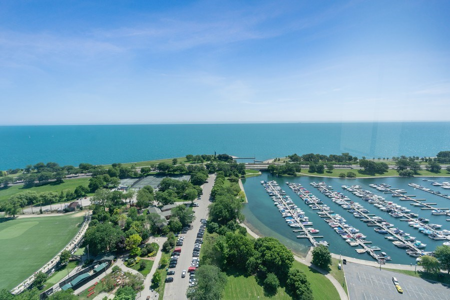 Real Estate Photography - 2800 N. Lake Shore Dr, #3401-3402, Chicago, IL, 60657 - View