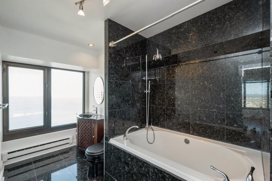 Real Estate Photography - 175 E Delaware, 5002, Chicago, IL, 60611 - Master Bathroom