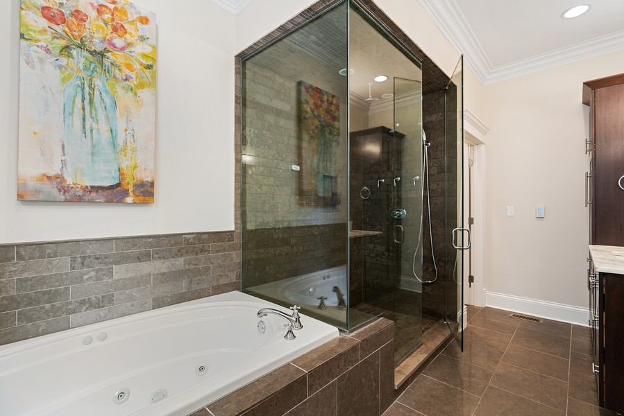 Real Estate Photography - 2663 N. Ashland Ave, #1S, Chicago, IL, 60614 - Master Bathroom