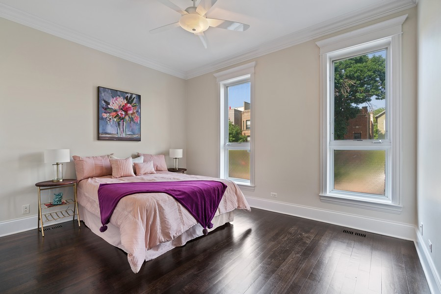 Real Estate Photography - 2663 N. Ashland Ave, #1S, Chicago, IL, 60614 - 2nd Bedroom