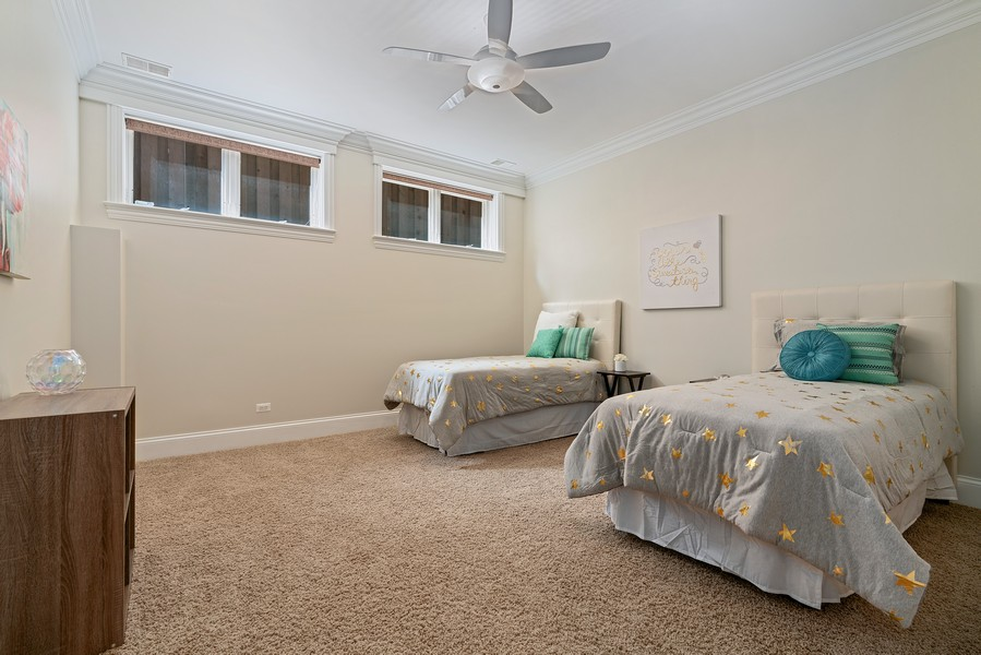 Real Estate Photography - 2663 N. Ashland Ave, #1S, Chicago, IL, 60614 - 3rd Bedroom