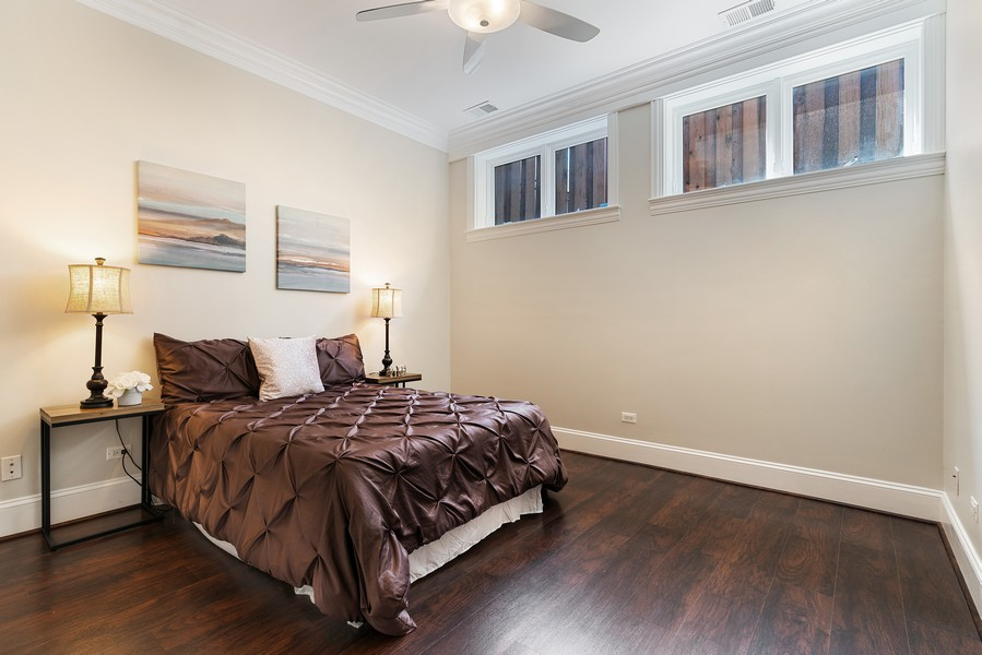 Real Estate Photography - 2663 N. Ashland Ave, #1S, Chicago, IL, 60614 - 4th Bedroom