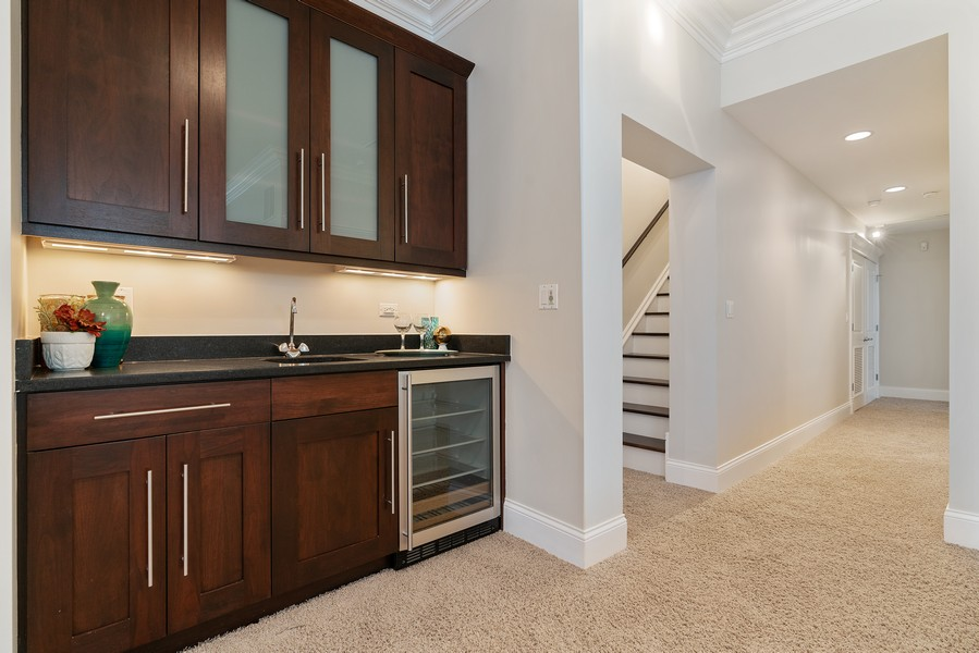 Real Estate Photography - 2663 N. Ashland Ave, #1S, Chicago, IL, 60614 - Wet Bar