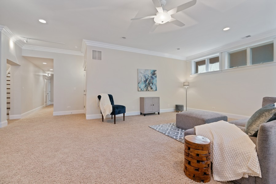 Real Estate Photography - 2663 N. Ashland Ave, #1S, Chicago, IL, 60614 - Lower Level