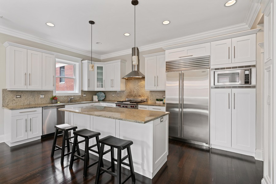 Real Estate Photography - 2663 N. Ashland Ave, #1S, Chicago, IL, 60614 - Kitchen