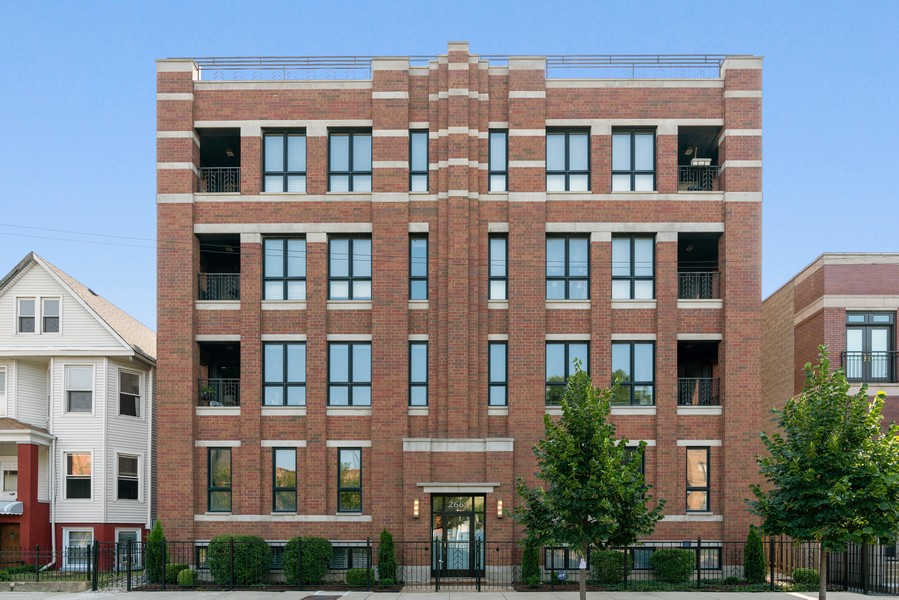 Real Estate Photography - 2663 N. Ashland Ave, #1S, Chicago, IL, 60614 - Front View