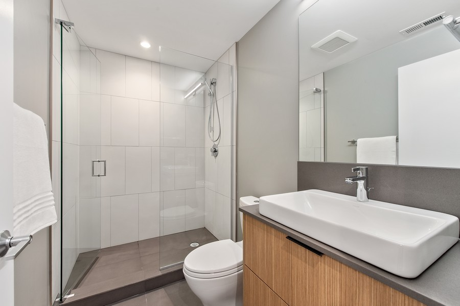 Real Estate Photography - 6074 N. Hermitage, Chicago, IL, 60660 - 3rd Bathroom