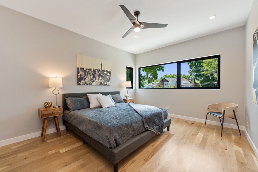 Real Estate Photography - 6074 N. Hermitage, Chicago, IL, 60660 - Master Bedroom