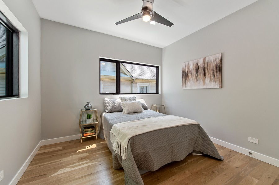 Real Estate Photography - 6074 N. Hermitage, Chicago, IL, 60660 - 2nd Bedroom