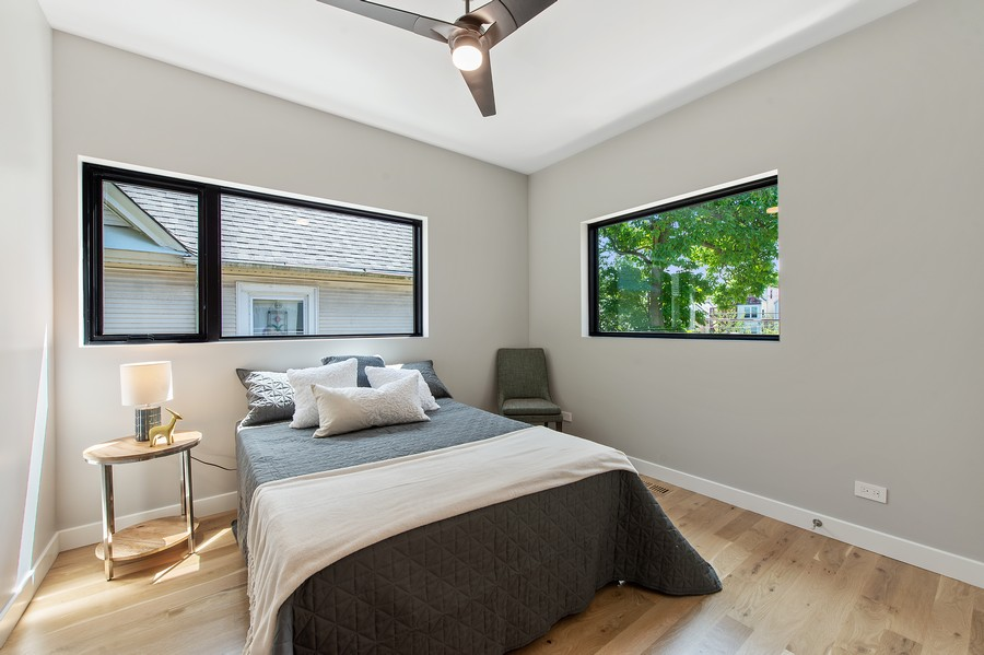 Real Estate Photography - 6074 N. Hermitage, Chicago, IL, 60660 - 3rd Bedroom
