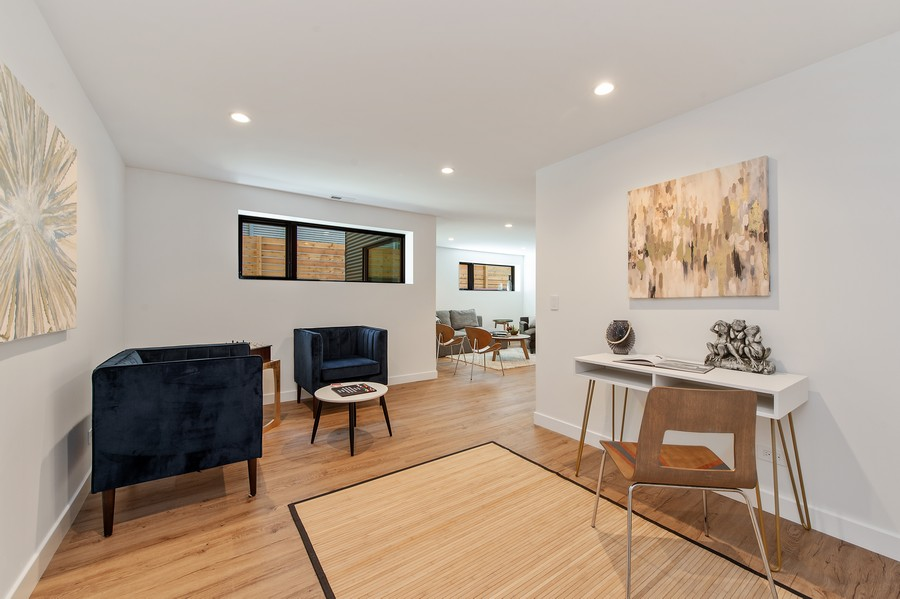 Real Estate Photography - 6074 N. Hermitage, Chicago, IL, 60660 - Lower Level