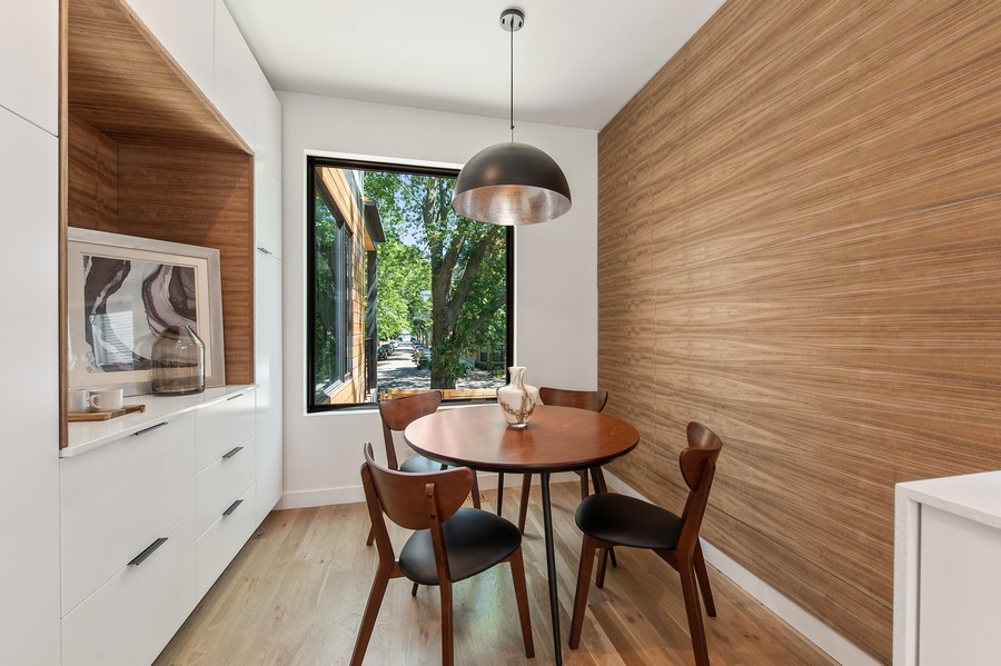 Real Estate Photography - 6074 N. Hermitage, Chicago, IL, 60660 - Kitchen / Breakfast Room