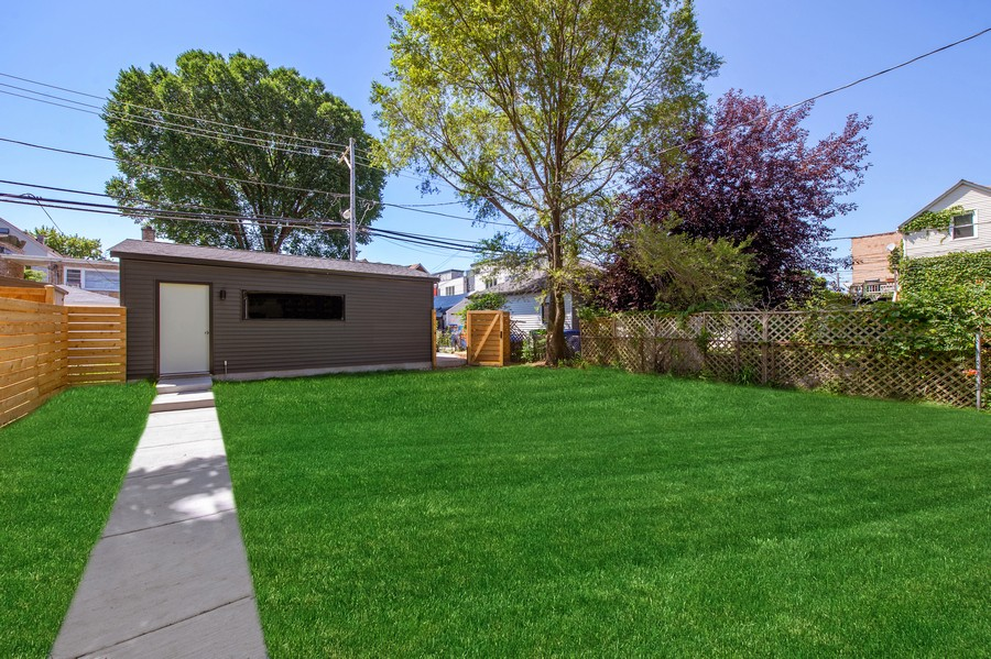 Real Estate Photography - 6074 N. Hermitage, Chicago, IL, 60660 - Back Yard