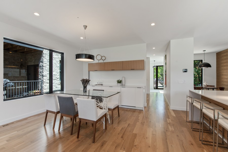 Real Estate Photography - 6074 N. Hermitage, Chicago, IL, 60660 - Dining Room