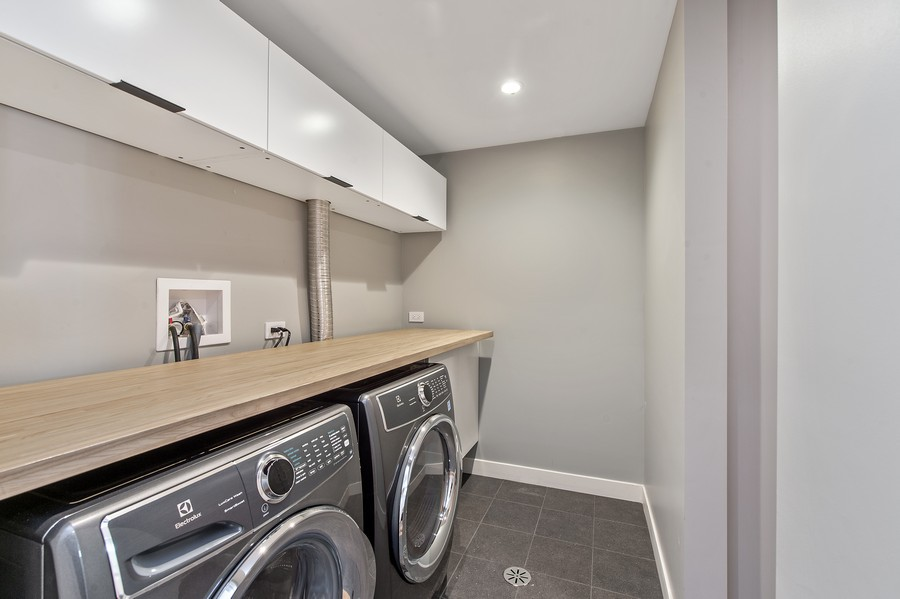 Real Estate Photography - 6074 N. Hermitage, Chicago, IL, 60660 - Laundry Room