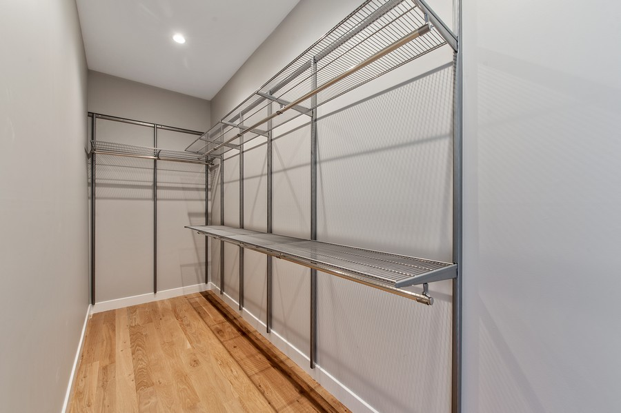 Real Estate Photography - 6074 N. Hermitage, Chicago, IL, 60660 - Master Bedroom Closet