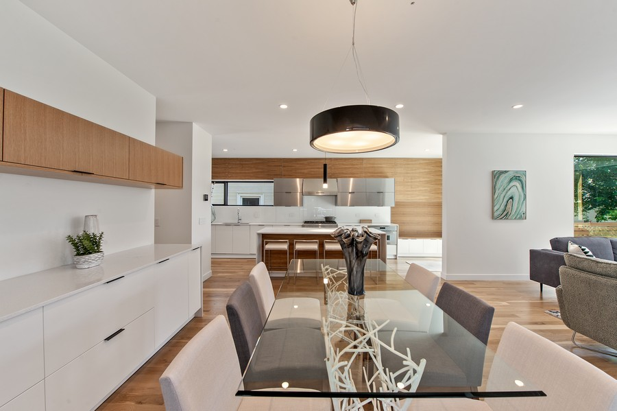 Real Estate Photography - 6074 N. Hermitage, Chicago, IL, 60660 - Kitchen / Dining Room
