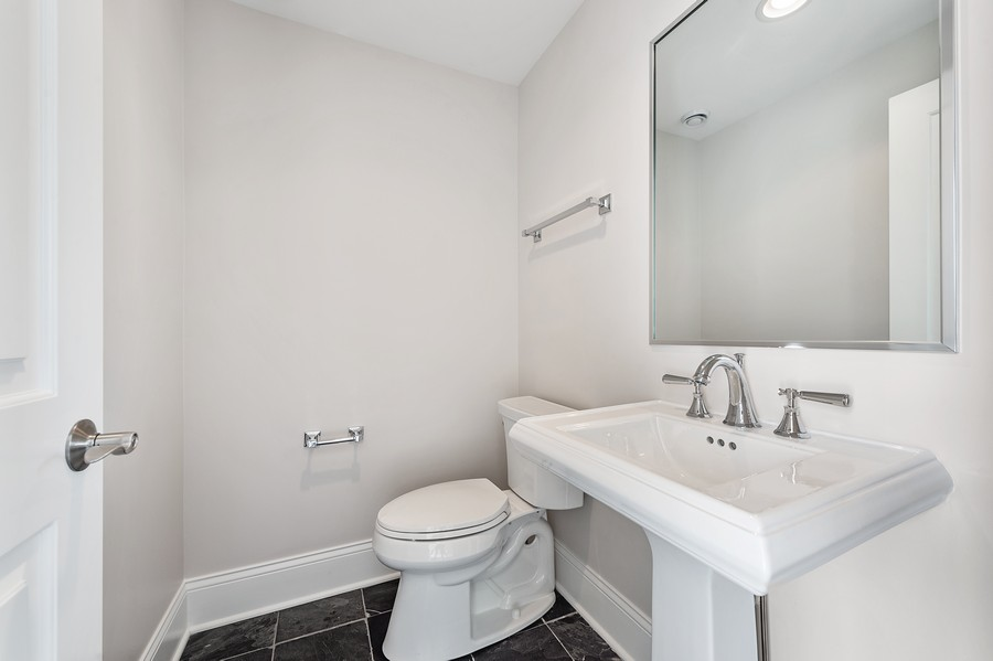 Real Estate Photography - 2019 W. Melrose St, Chicago, IL, 60618 - Bath