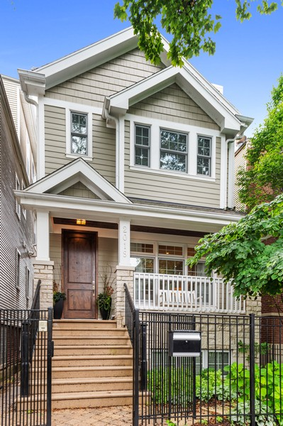Real Estate Photography - 2019 W. Melrose St, Chicago, IL, 60618 - Front View