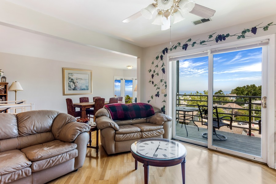 Real Estate Photography - 333 lake Shore Drive, Unit B-3, Michigan City, IN, 46360 - Living Room