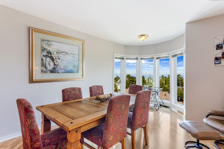 Real Estate Photography - 333 lake Shore Drive, Unit B-3, Michigan City, IN, 46360 - Dining Room