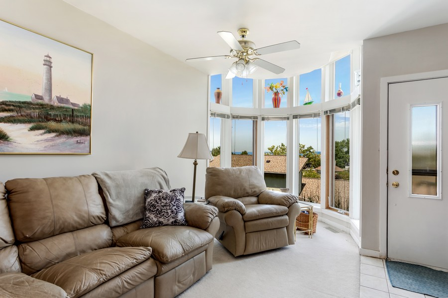 Real Estate Photography - 333 lake Shore Drive, Unit B-3, Michigan City, IN, 46360 - Family Room