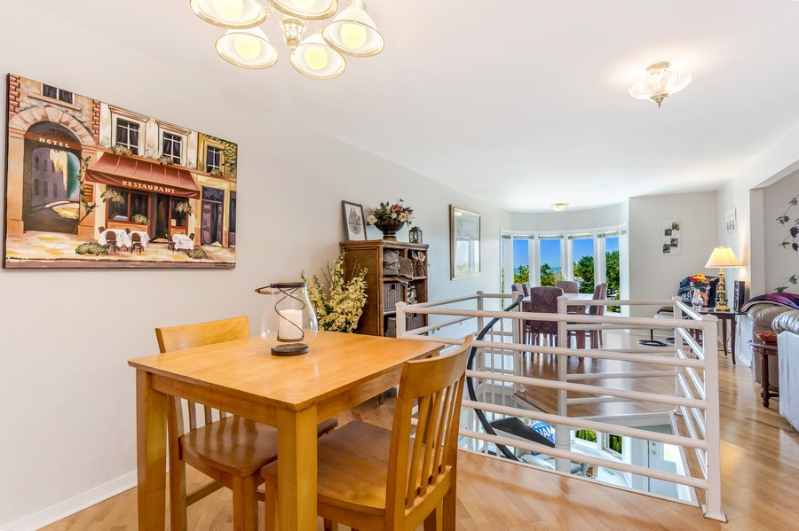 Real Estate Photography - 333 lake Shore Drive, Unit B-3, Michigan City, IN, 46360 - Dining Area