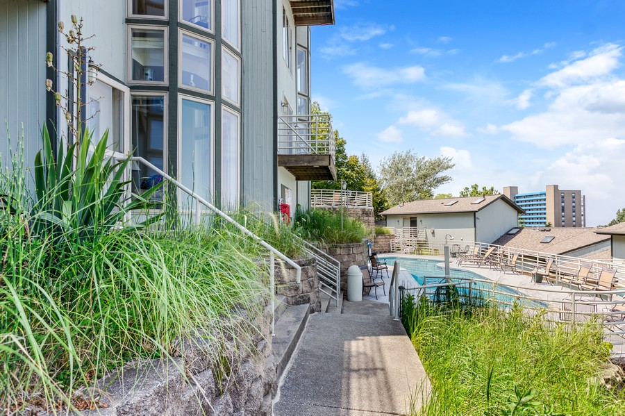 Real Estate Photography - 333 lake Shore Drive, Unit B-3, Michigan City, IN, 46360 - Front View