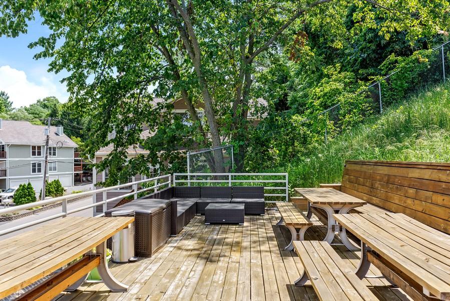 Real Estate Photography - 333 lake Shore Drive, Unit B-3, Michigan City, IN, 46360 - Deck