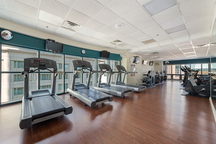 Real Estate Photography - 100 E Huron St, Unit 1701, Chicago, IL, 60611 - Exercise Room