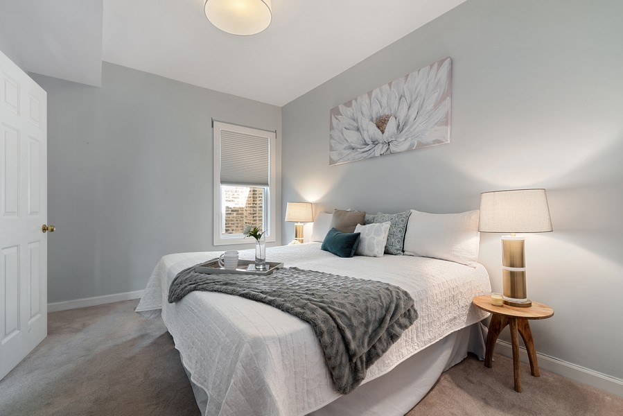 Real Estate Photography - 3623 N. Ashland, #2, Chicago, IL, 60613 - Master Bedroom