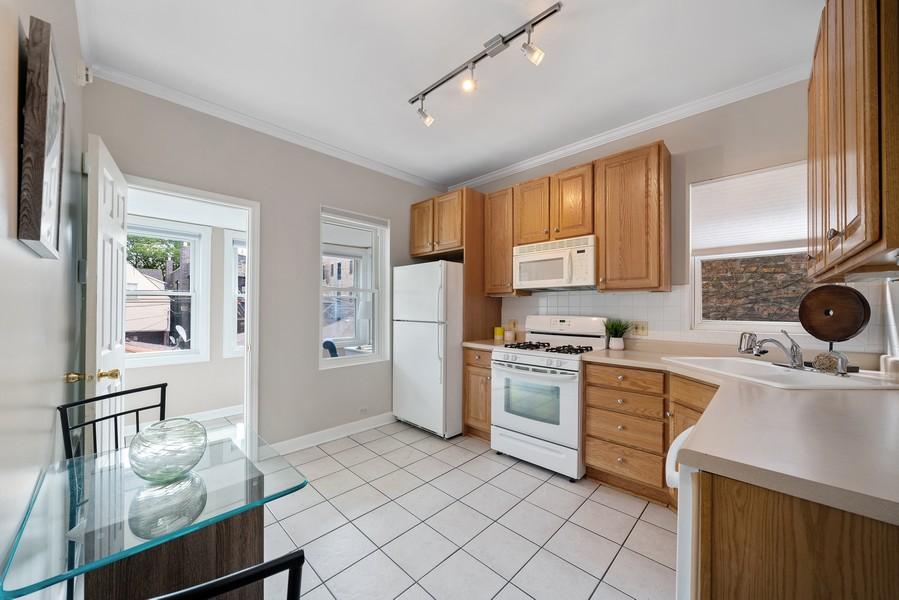 Real Estate Photography - 3623 N. Ashland, #2, Chicago, IL, 60613 - Kitchen
