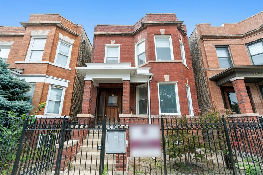 Real Estate Photography - 3623 N. Ashland, #2, Chicago, IL, 60613 - Front View