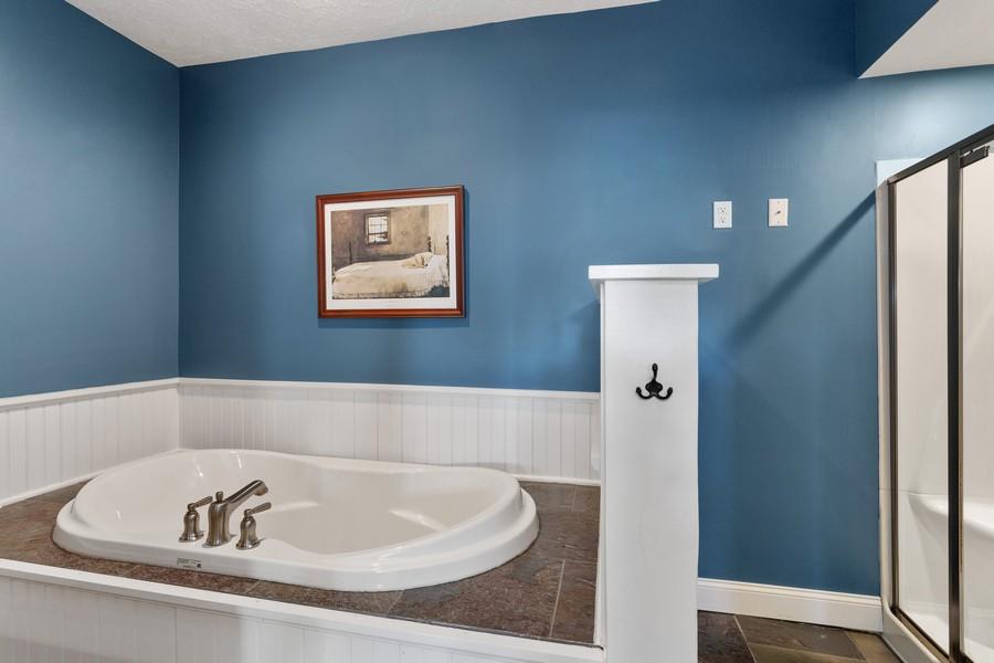Real Estate Photography - 3621 Lakeshore Dr, St. Joseph, MI, 49085 - Master Bathroom