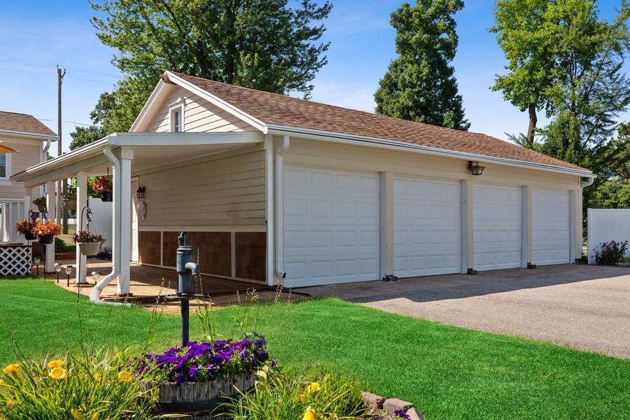 Real Estate Photography - 3621 Lakeshore Dr, St. Joseph, MI, 49085 - Garage