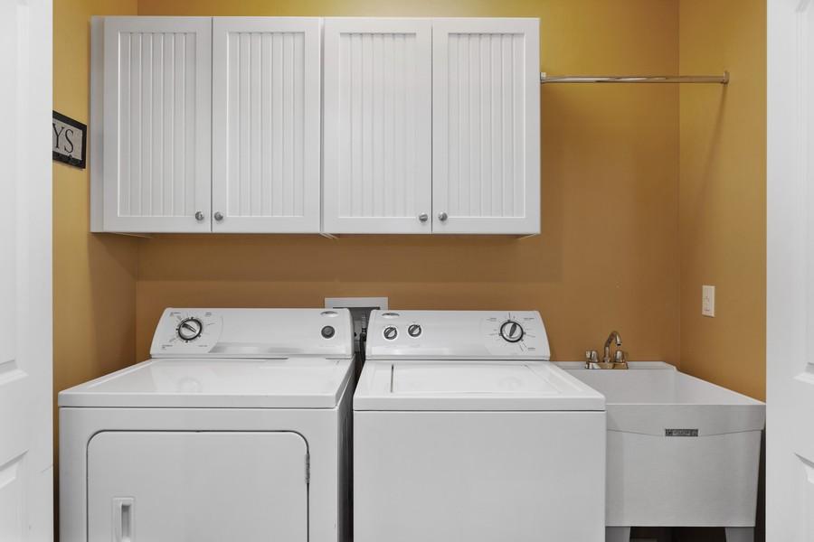 Real Estate Photography - 3621 Lakeshore Dr, St. Joseph, MI, 49085 - Laundry Room