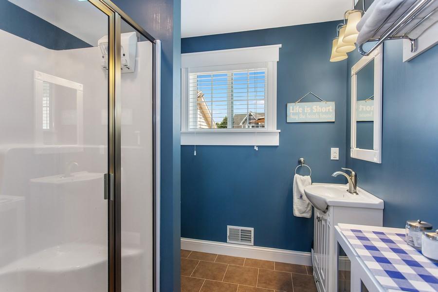 Real Estate Photography - 3621 Lakeshore Dr, St. Joseph, MI, 49085 - 2nd Bathroom