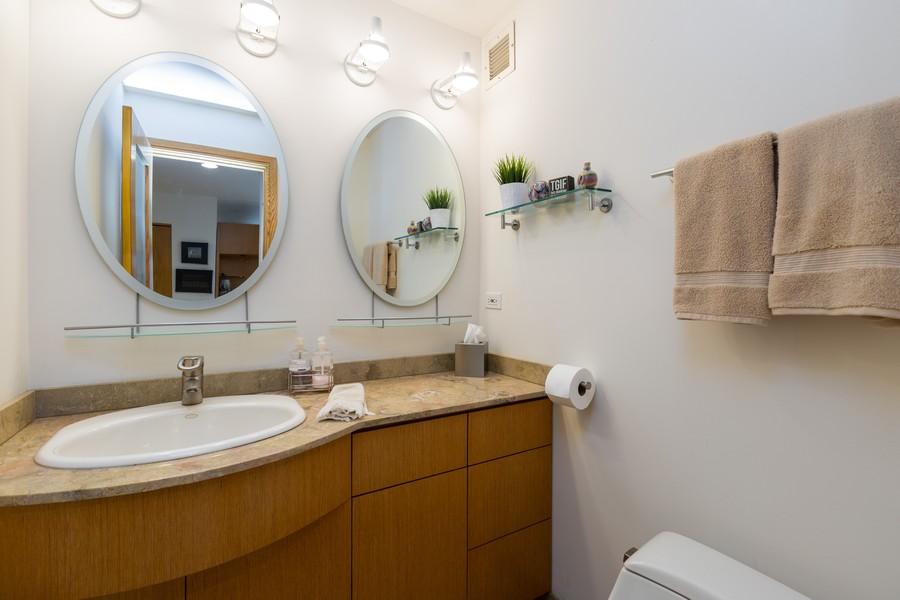 Real Estate Photography - 110 E. Delaware Place, 1804, Chicago, IL, 60611 - Bathroom