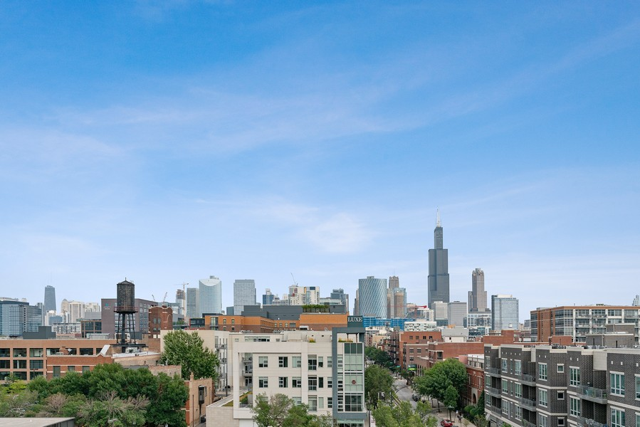 Real Estate Photography - 6 N. Throop St, #4S, Chicago, IL, 60607 - View