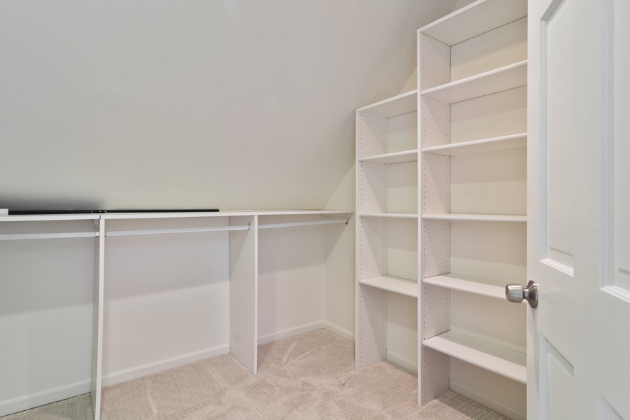 Real Estate Photography - 3139 N. Southport Ave, #PH, Chicago, IL, 60657 - Master Bedroom Closet