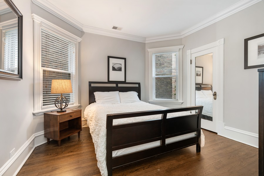 Real Estate Photography - 4704 N. Talman Ave, Chicago, IL, 60625 - 2nd Bedroom