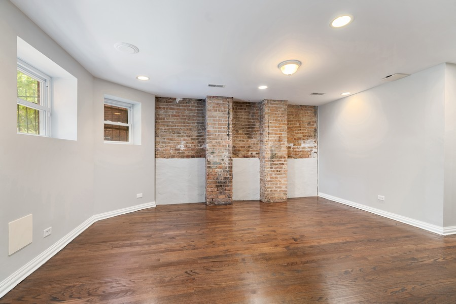 Real Estate Photography - 4704 N. Talman Ave, Chicago, IL, 60625 - Lower Level