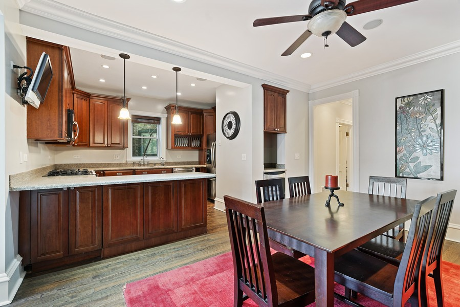 Real Estate Photography - 4704 N. Talman Ave, Chicago, IL, 60625 - Kitchen