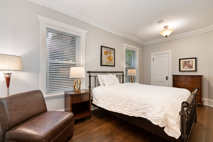 Real Estate Photography - 4704 N. Talman Ave, Chicago, IL, 60625 - Bedroom